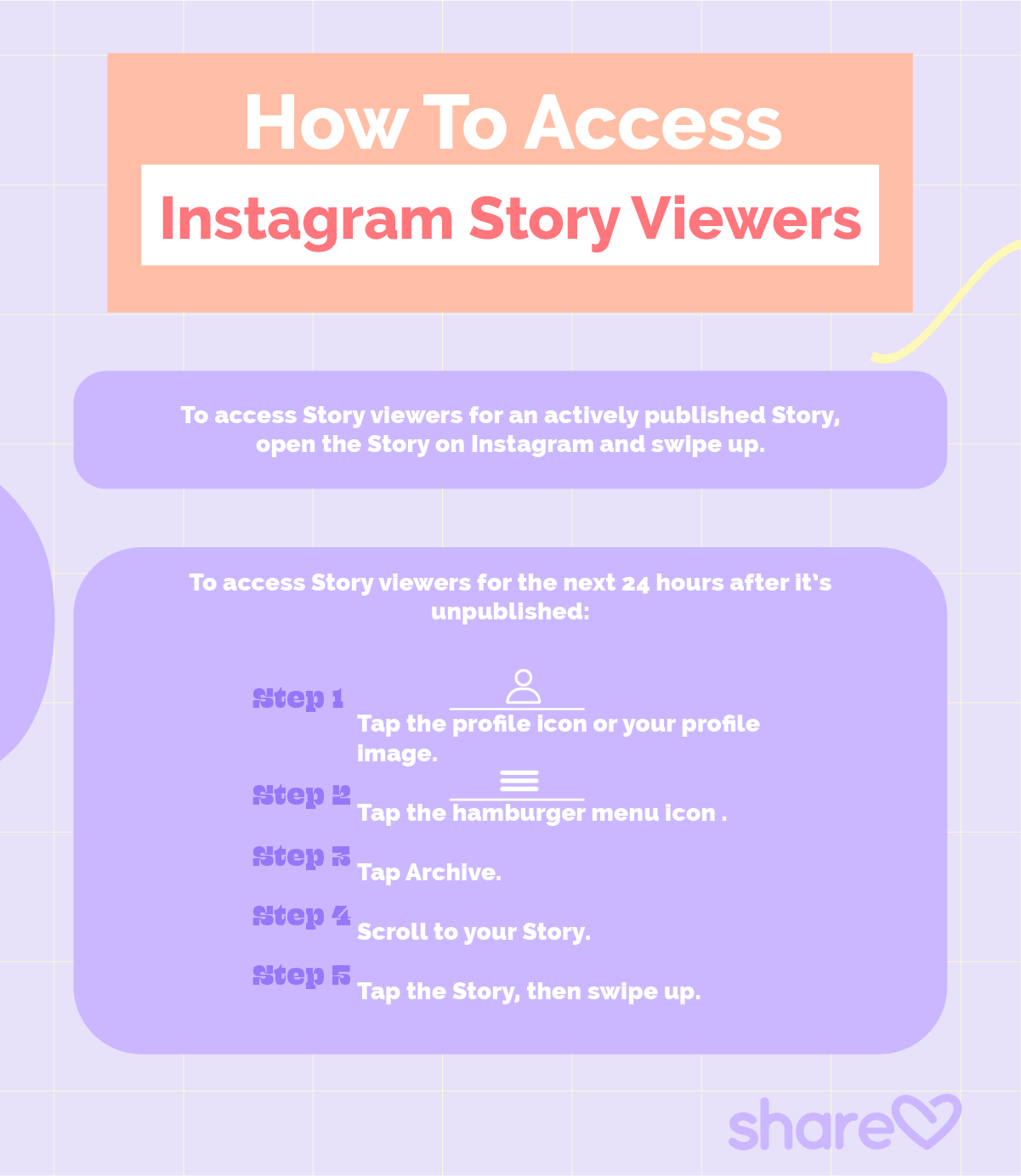 How to access story viewers