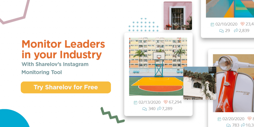 monitor industry leaders with Sharelov