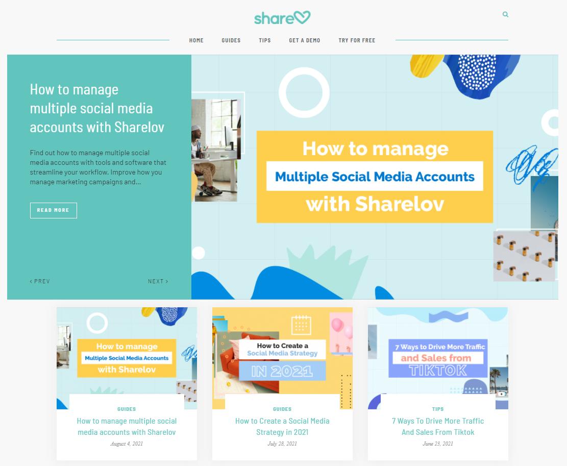 sharelov blog
