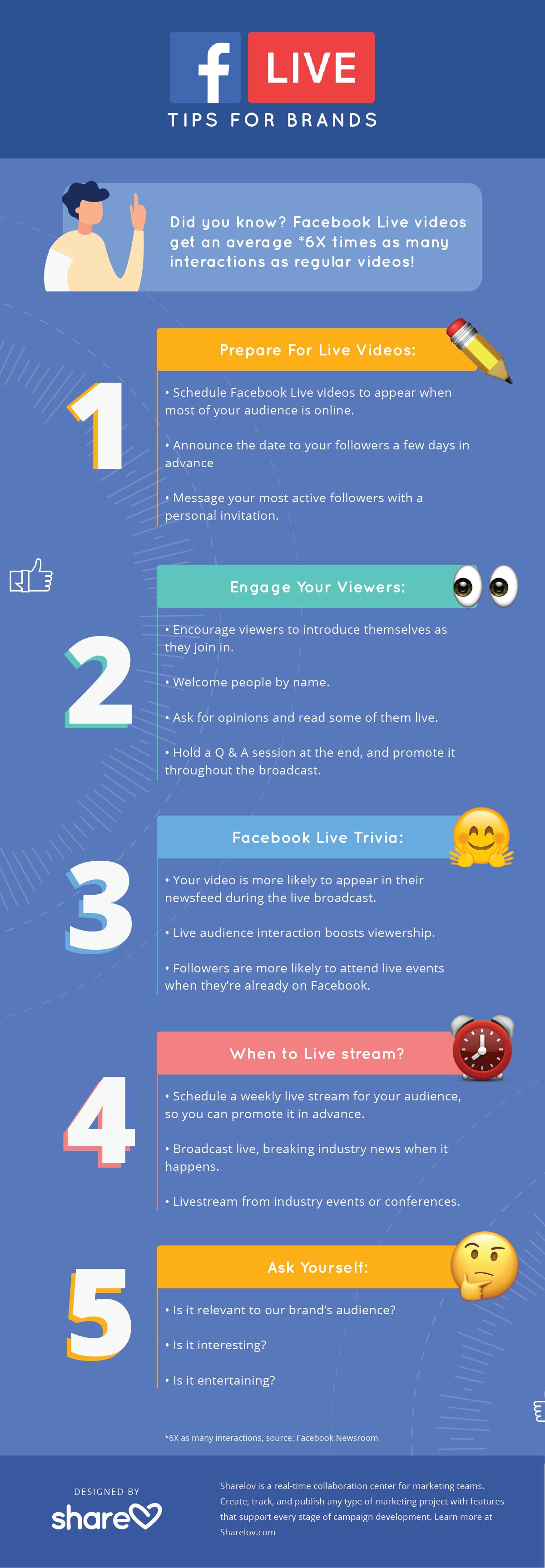 Facebook Livestream Tips