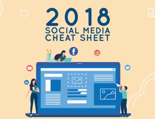 2018 Social Media Cheat Sheet